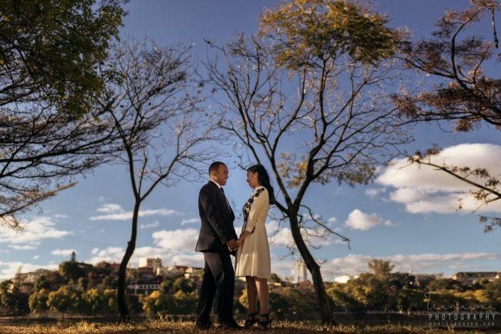 Couple Lac Anosy portrait Tianaina