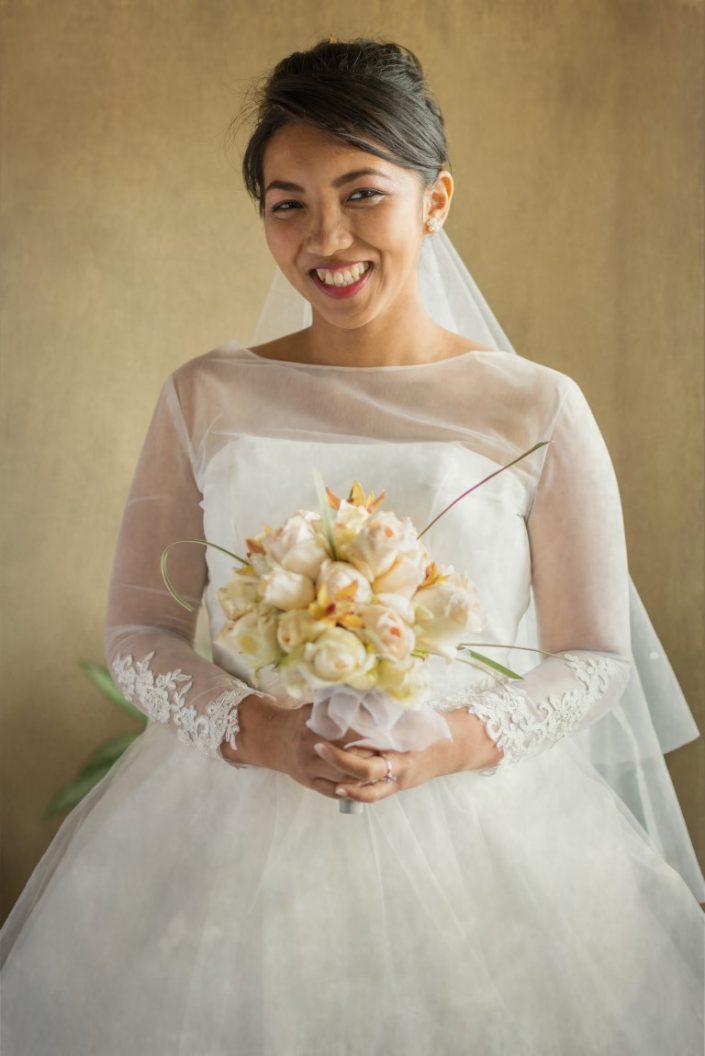 Mariée portrait par Tianaina