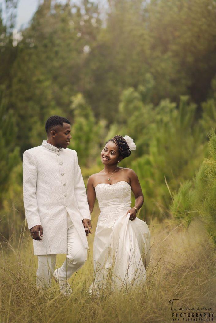 nouveaux mariés,post wedding par photographe professionnel Tianaina
