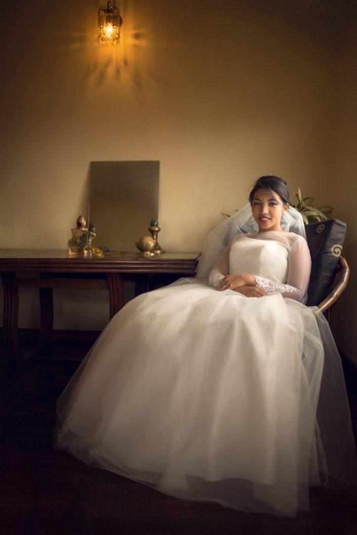 Mariée assise par Tianaina