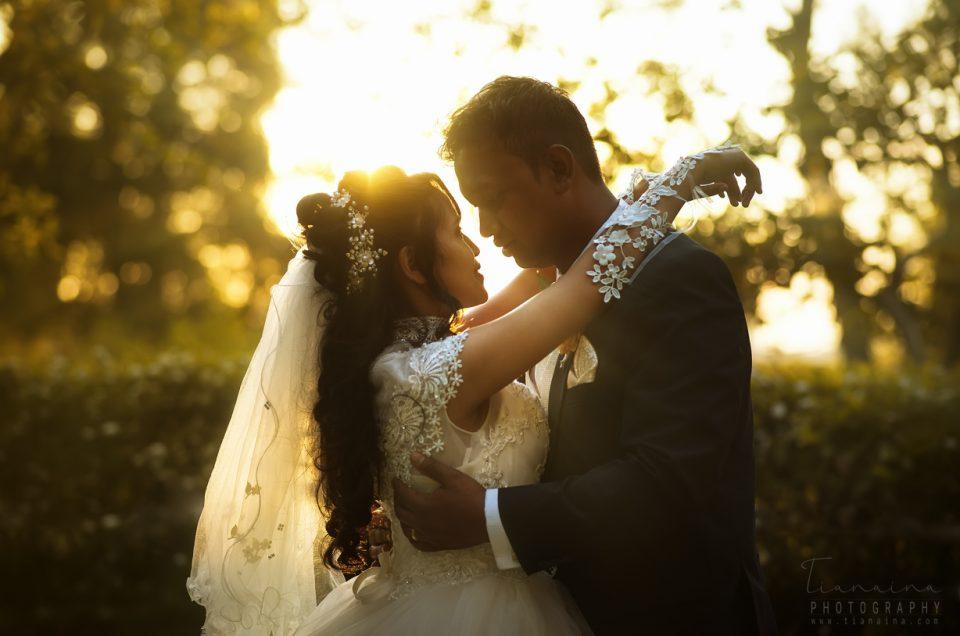 L'environnement (cadre) a-t-il un impact sur la qualité des photographies  de mariage?