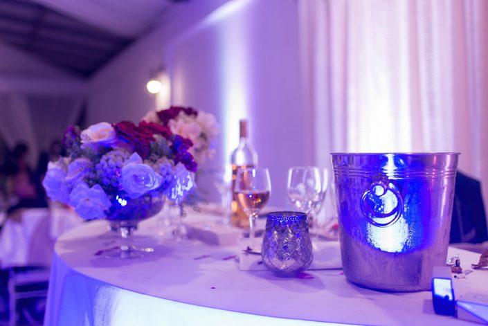 table des fiancés, réception photographiée par Tianaina
