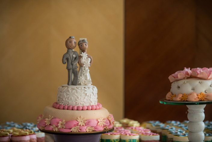 pièce montée des mariés photographiés par Tianaina