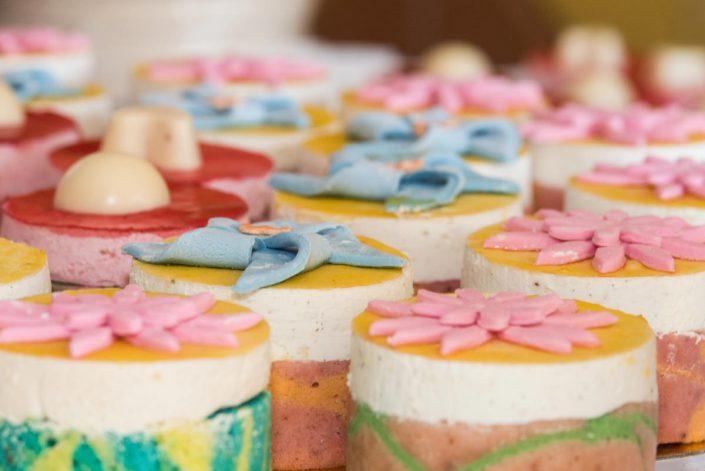 portions de gâteaux des mariés photographié par Tianaina