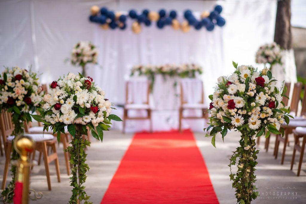 Espace champêtre pour célébrer une cérémonie de Vodiondry