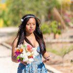 La mariée avec son bouquet par Tianaina