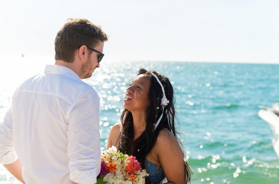 Mariage à Majunga sur les plages et îles d'Antsanitia